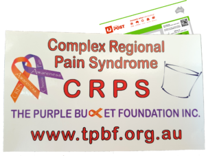 CRPS Awareness Sticker
