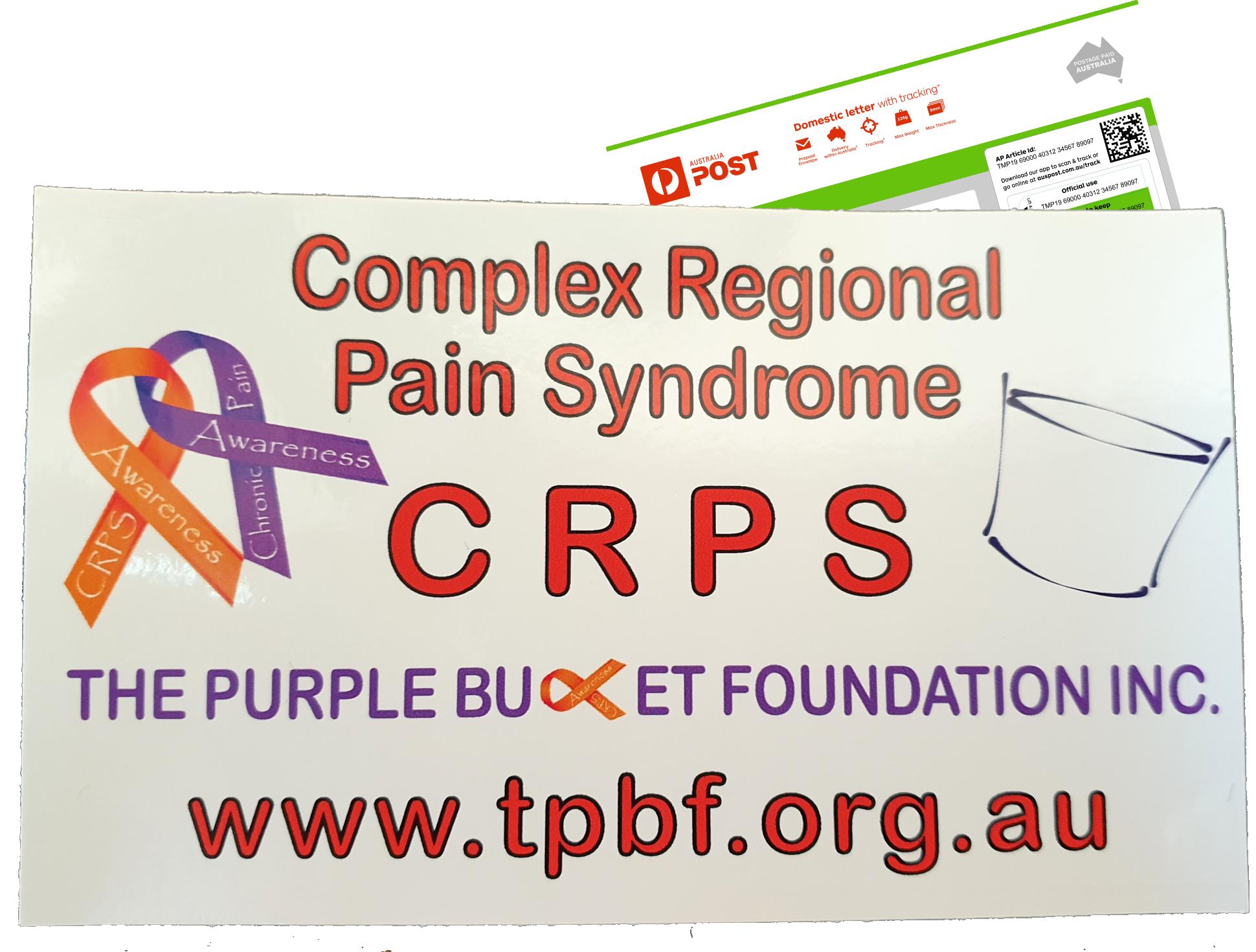 CRPS Awareness Sticker